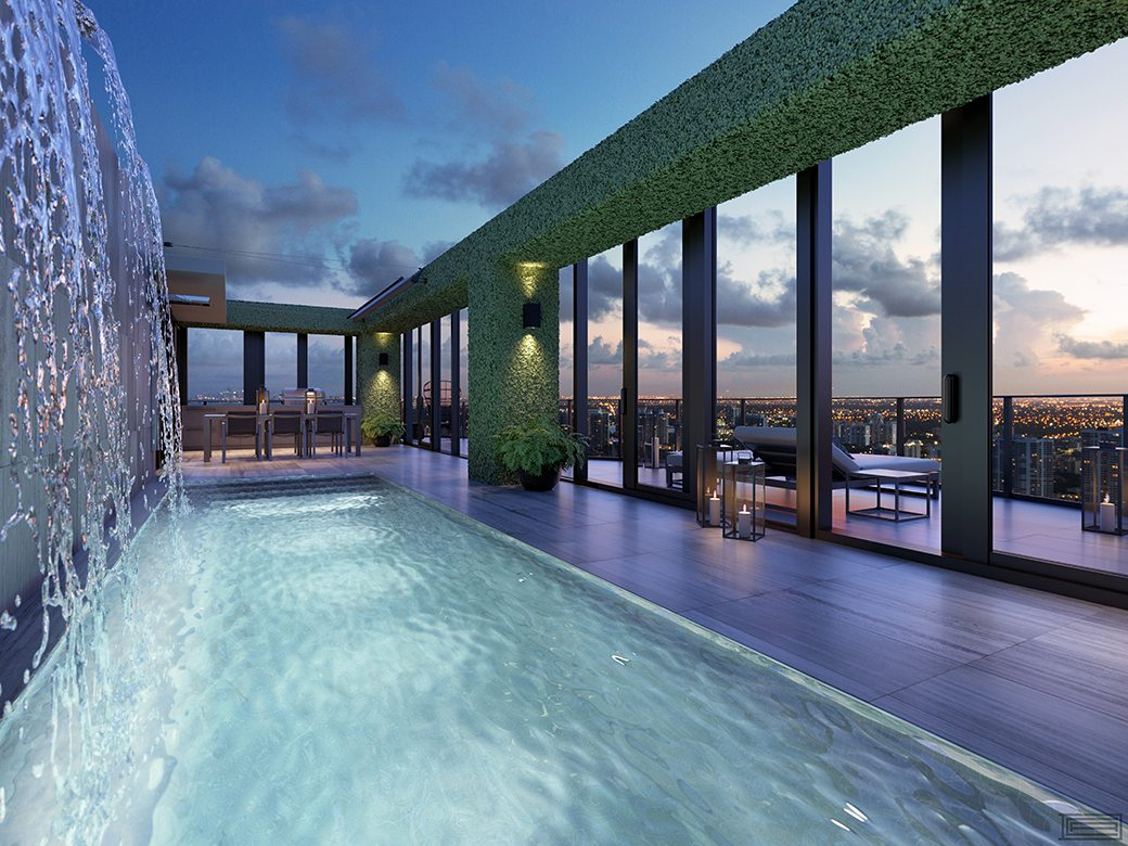 Regalia Penthouse Rooftop Pool