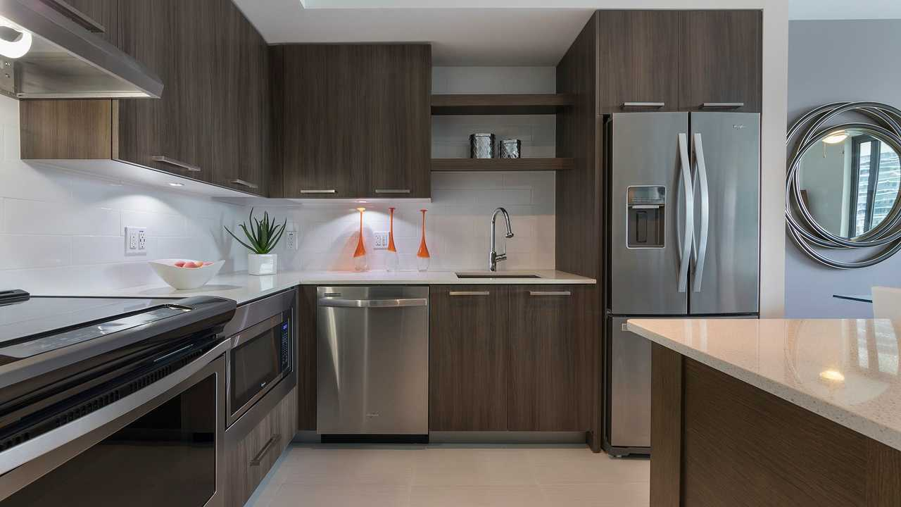 Solitair Brickell Kitchen
