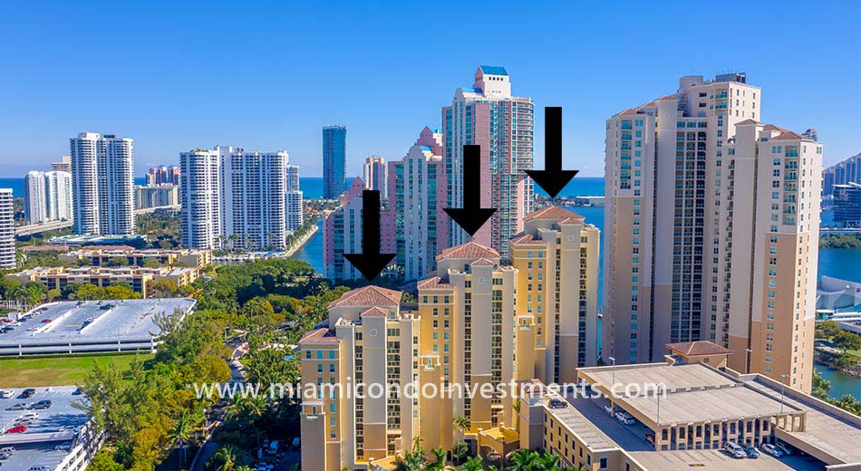 Aventura Marina One condominiums