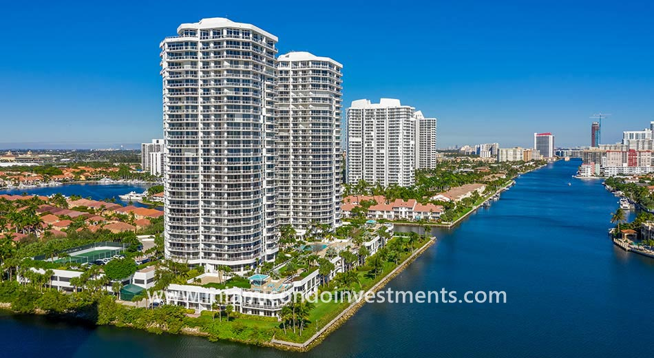 One Island Place condominiums