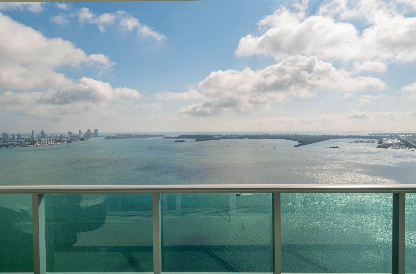 view from Jade at Brickell Bay