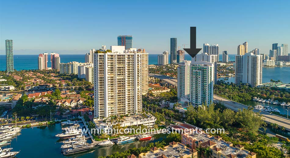The Parc at Turnberry Isle aerial photo