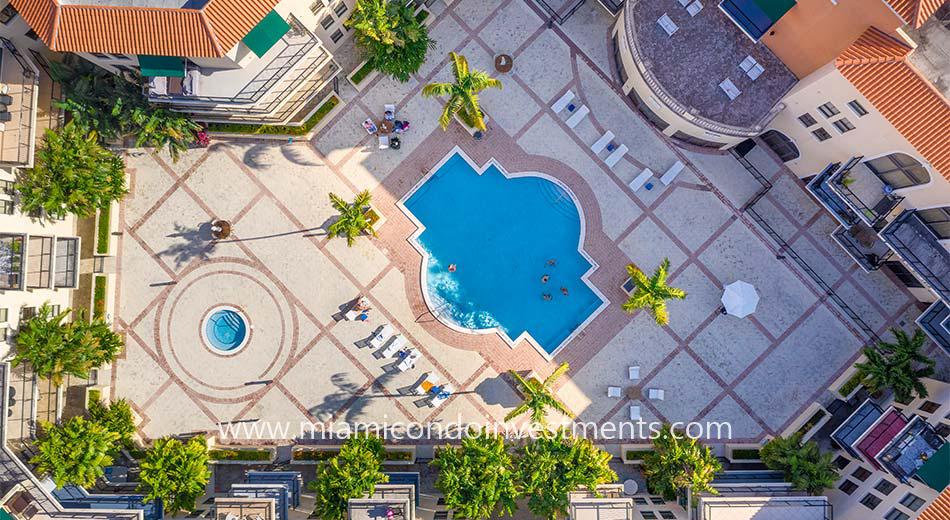 55 Merrick pool deck