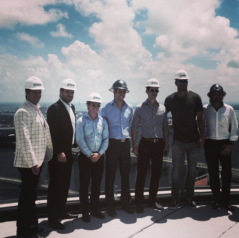 Giancarlo Stanton Tours His Nearly Completed Miami Penthouse