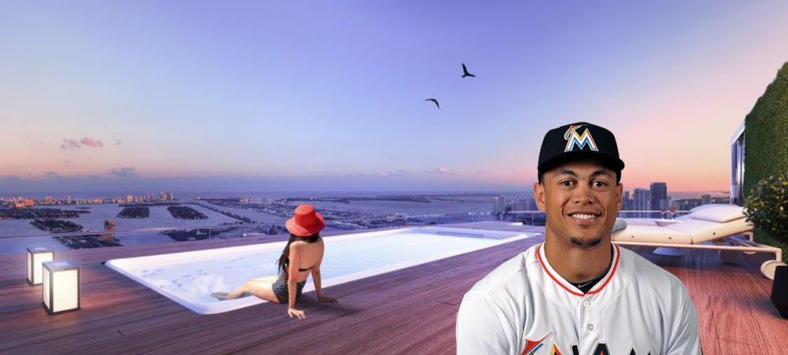 Giancarlo Stanton Miami penthouse