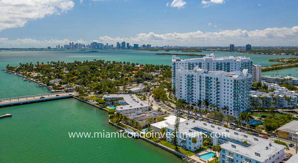 views from 360 Condos North Bay Village