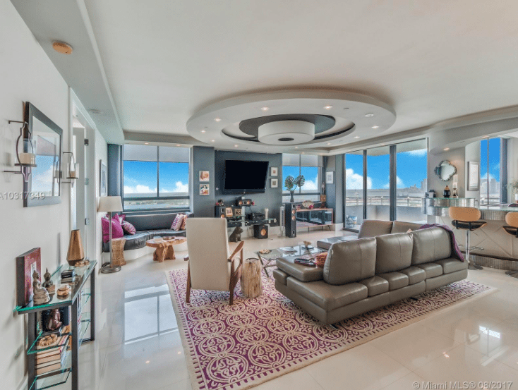 Jeremy Shockey South Beach Penthouse