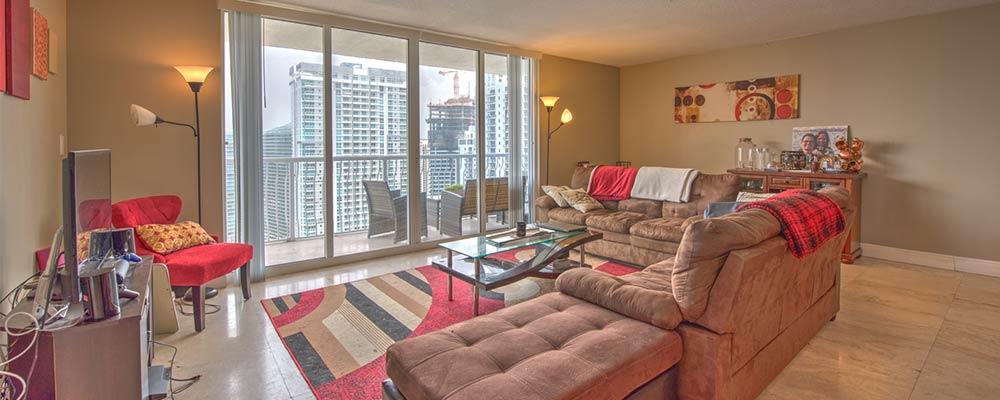 2 bedroom condo for rent in Brickell