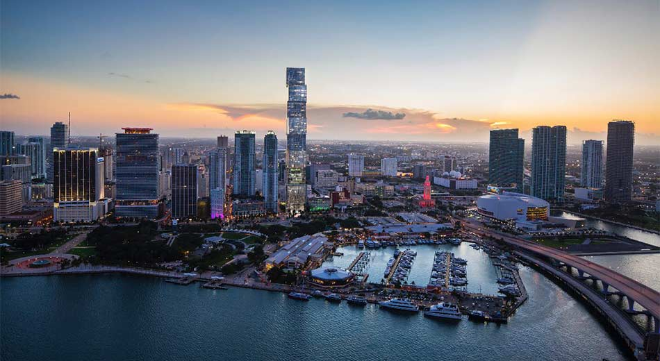 300 Biscayne condos in Downtown Miami