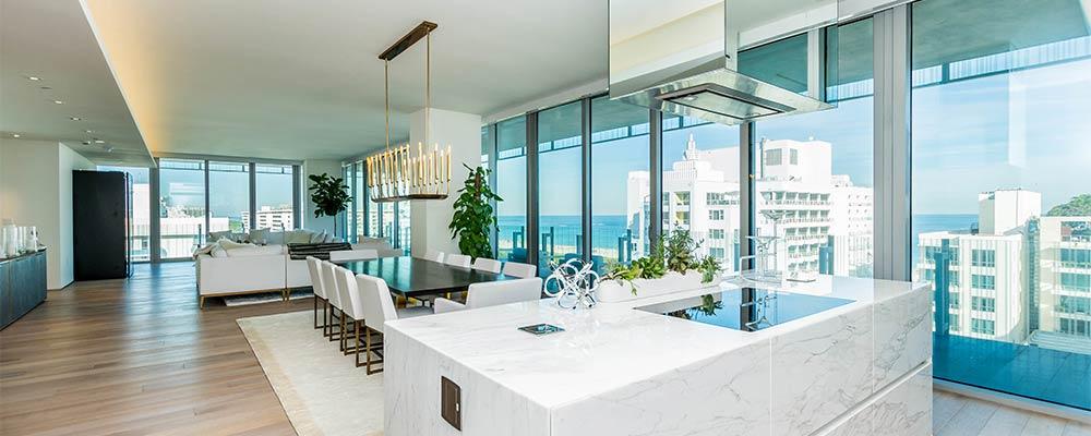 Glass Miami Beach condo 900