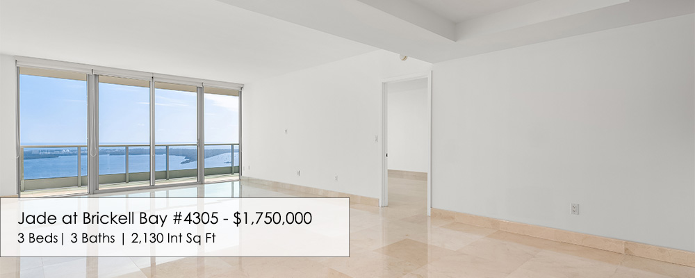 3 bedroom condo for sale at Jade Brickell