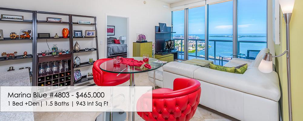 Marina Blue 1 bedroom unit 4803