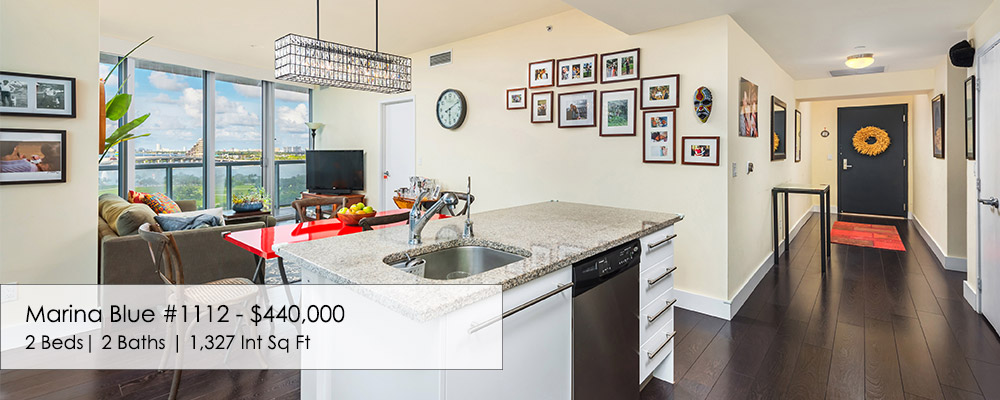 2 bed condo for sale at Marina Blue