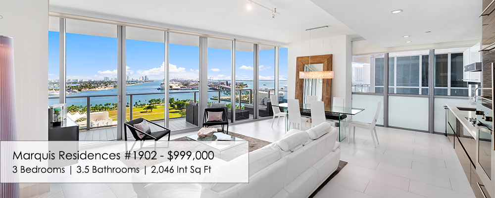 Marquis Residences 3 bedroom condo for sale