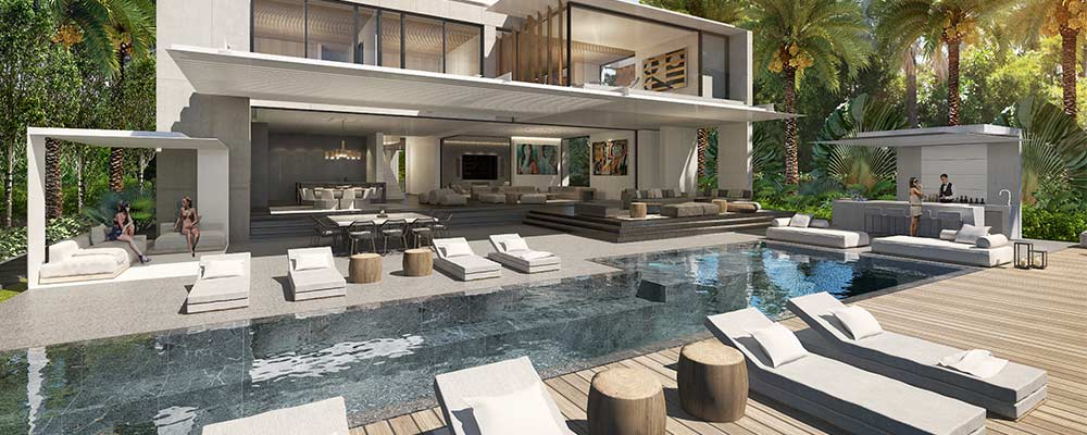 Miami Beach luxury home on Dilido Drive