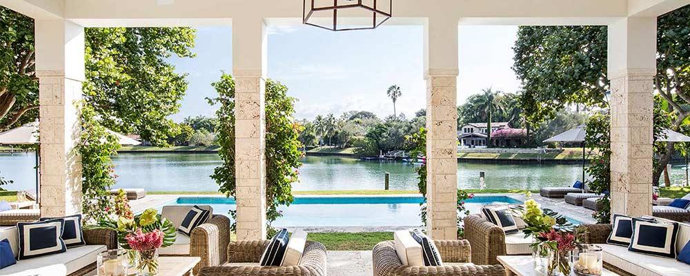 4445 Lake Road Miami luxury home