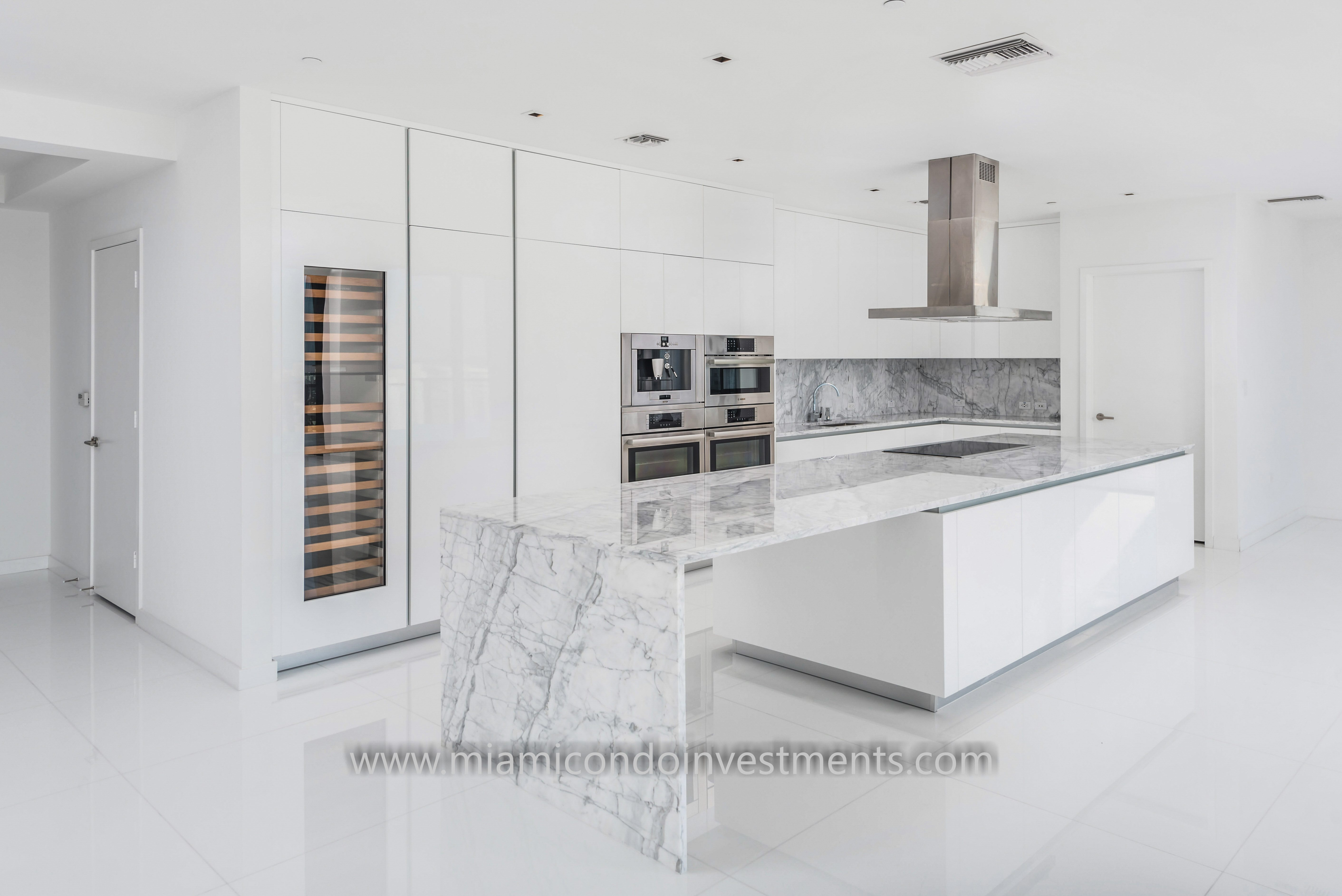 Reach Penthouse Brickell City Centre Kitchen Finishes