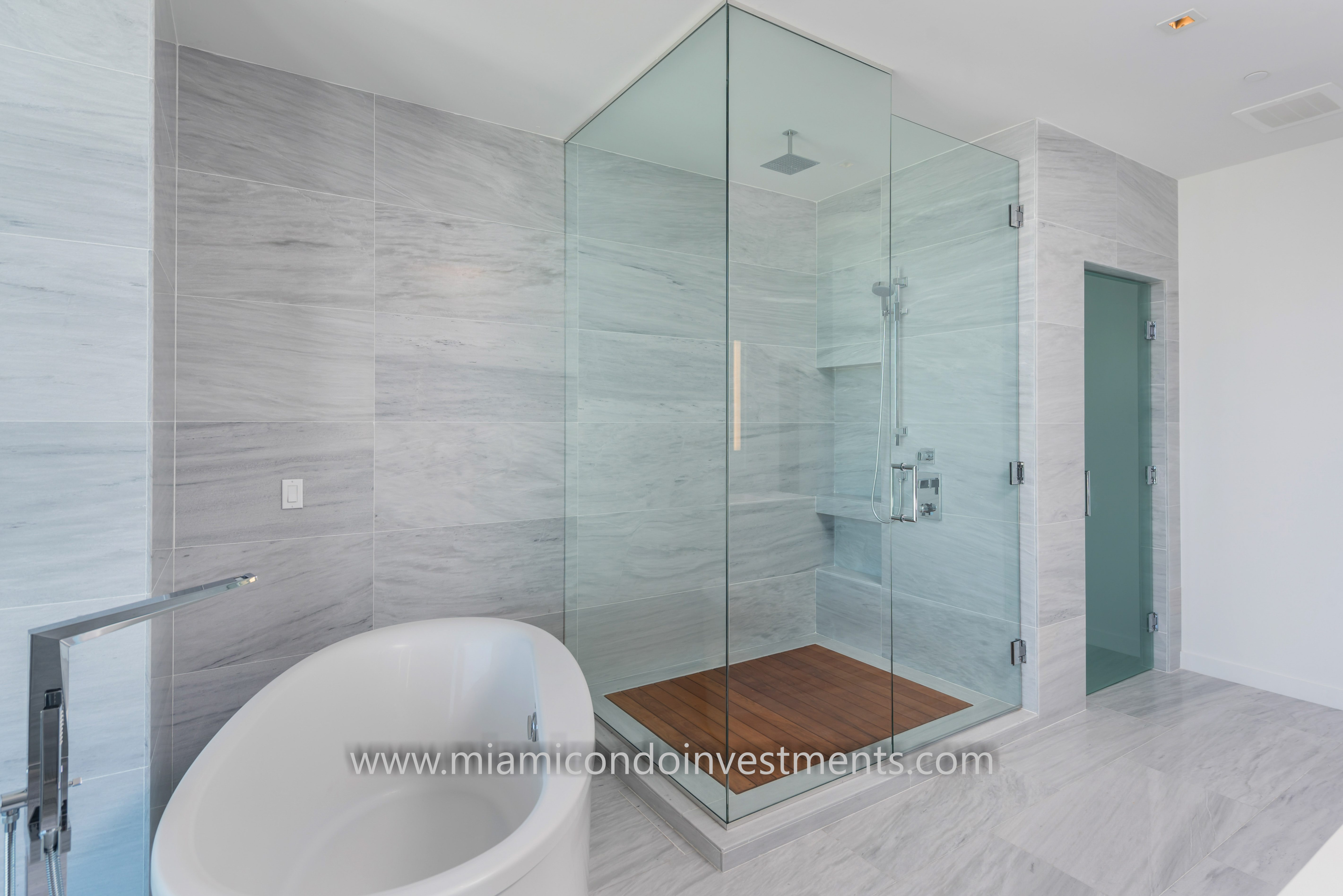 Brickell City Centre Penthouse Master Bath