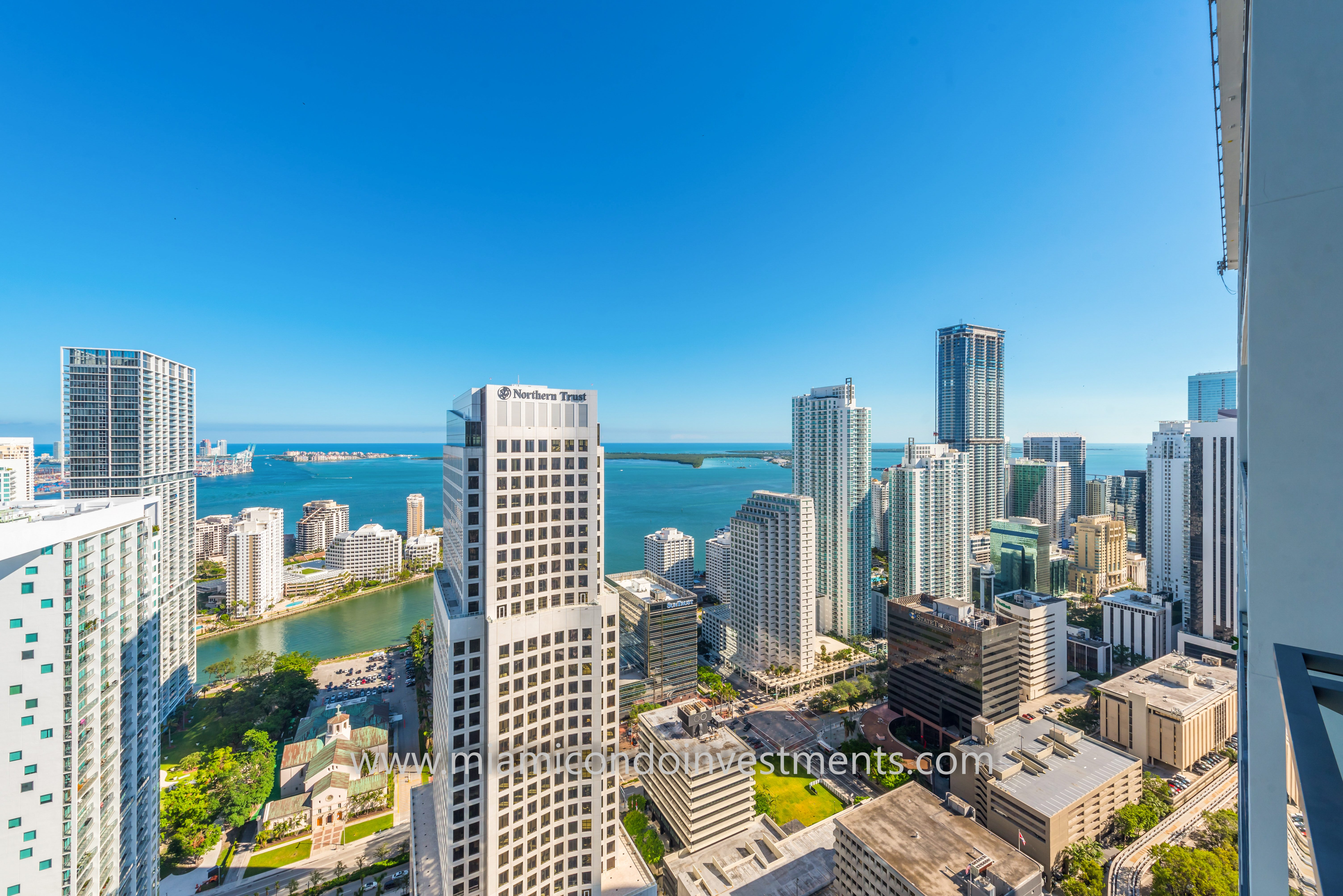 Brickell City Centre Reach Penthouse View