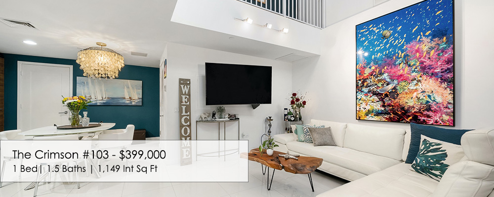townhouse for sale at The Crimson in Miami