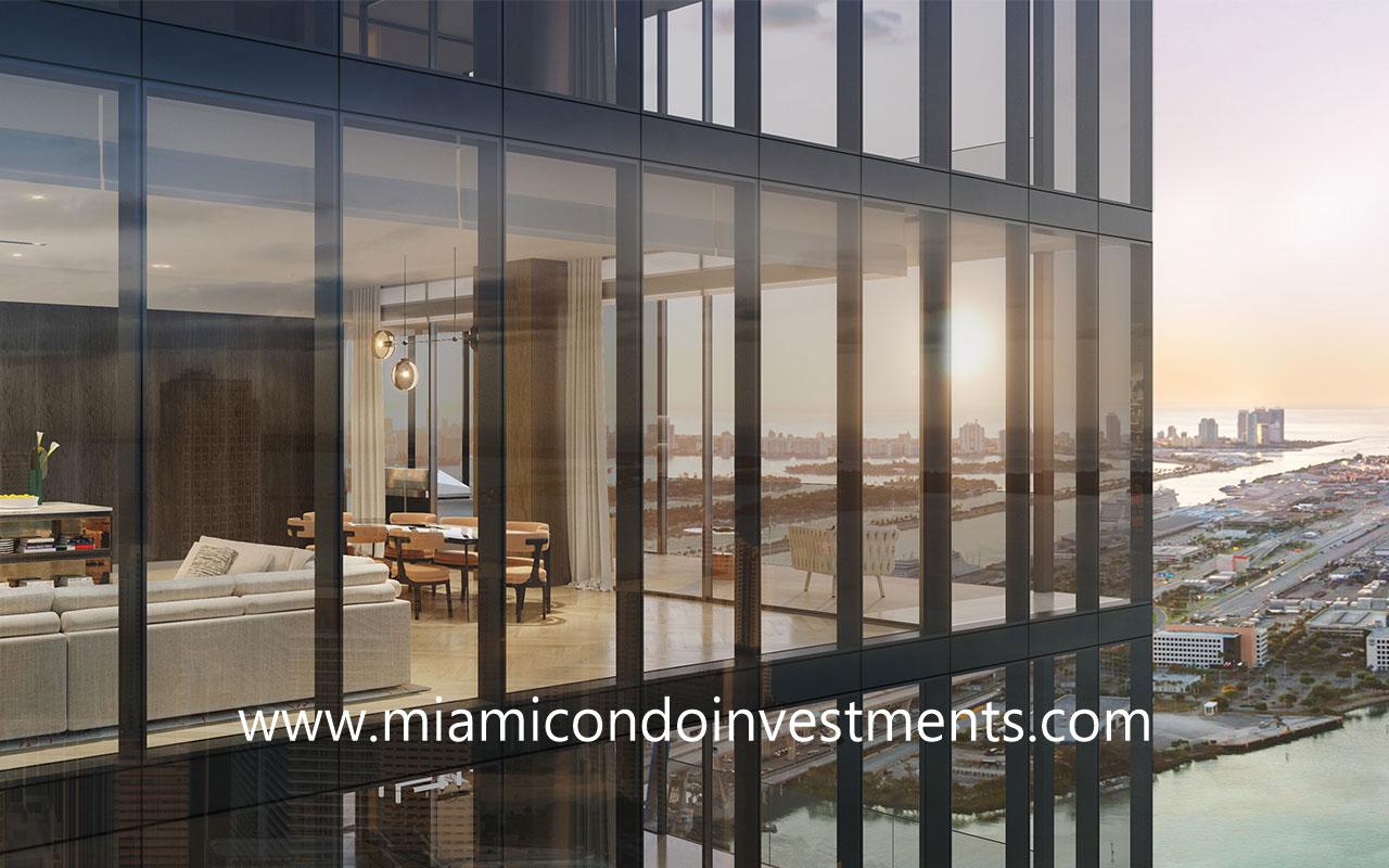 Waldorf Astoria Miami condo residence