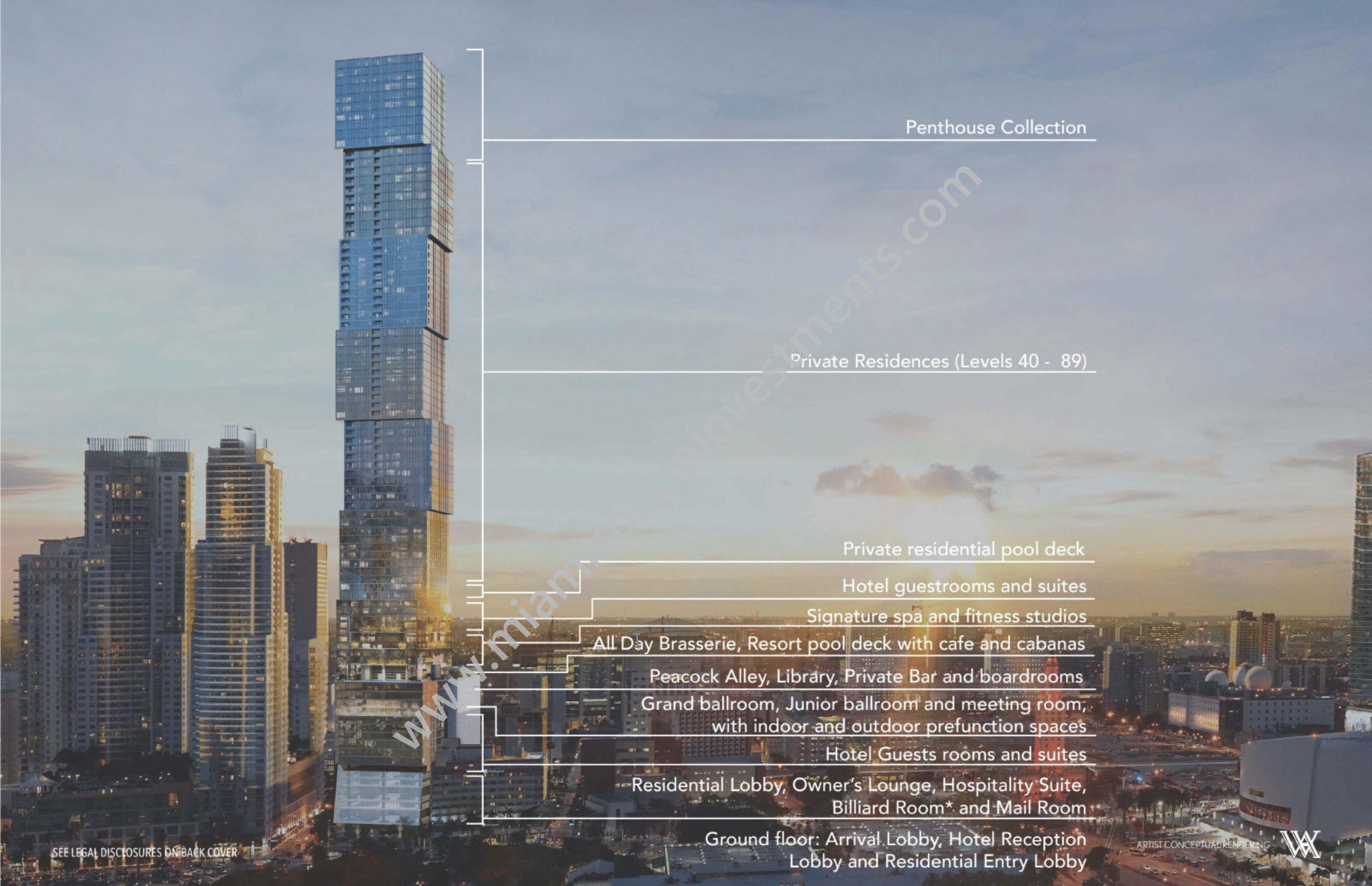 Floorplans 1 - Waldorf Astoria Residences Miami
