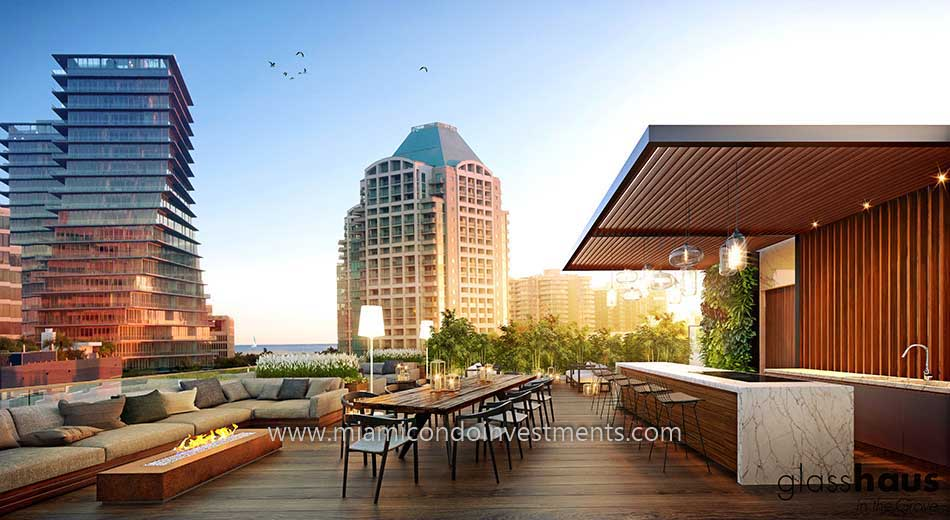 rooftop dining at Glasshaus