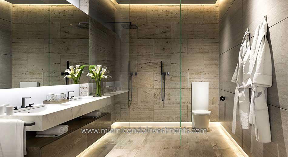 Glasshaus master bath