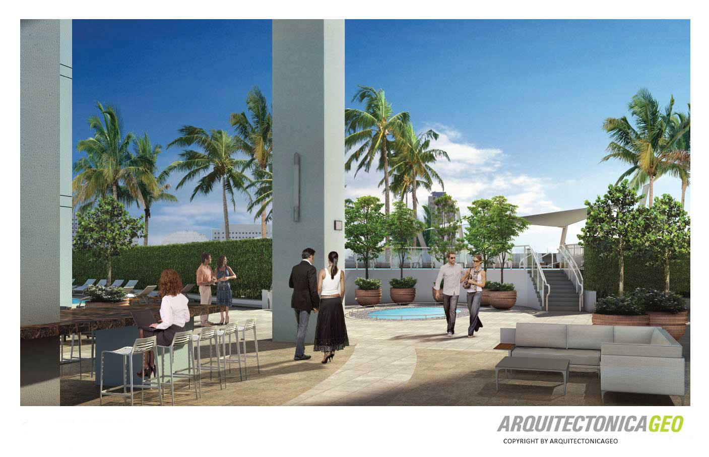 900 Biscayne Bay pool deck restoration project