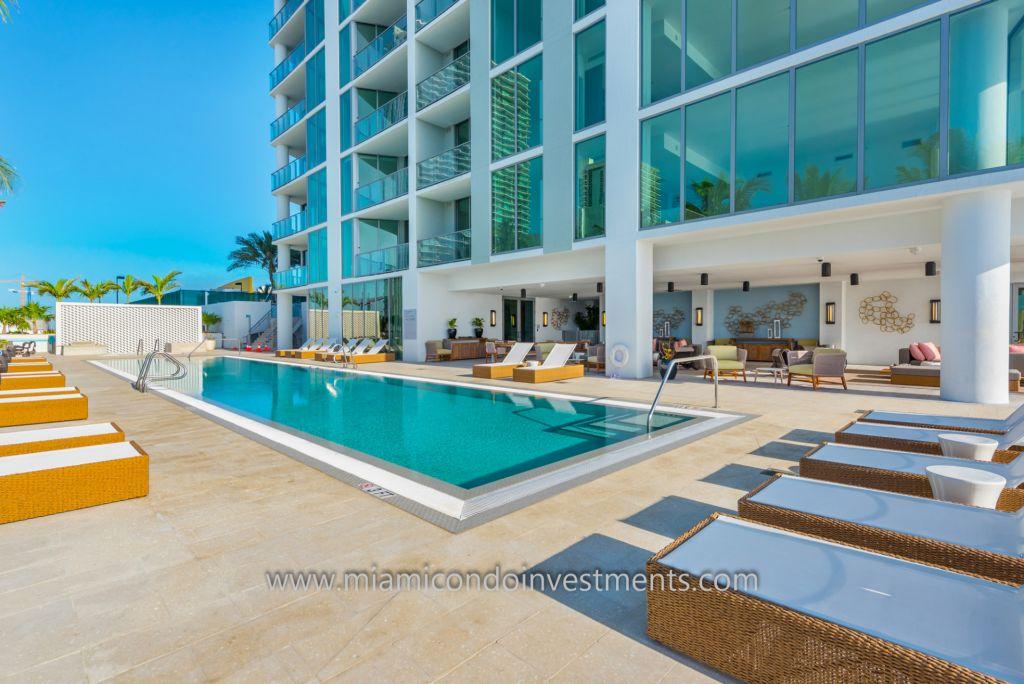 Biscayne Beach pool deck