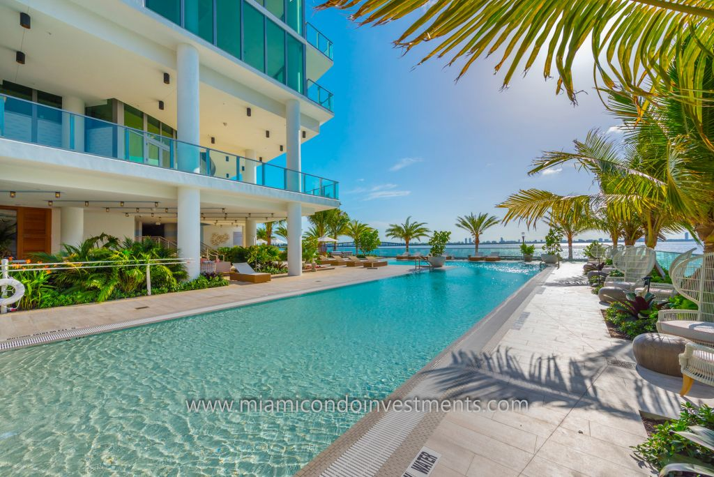 swimming pool at Biscayne Beach