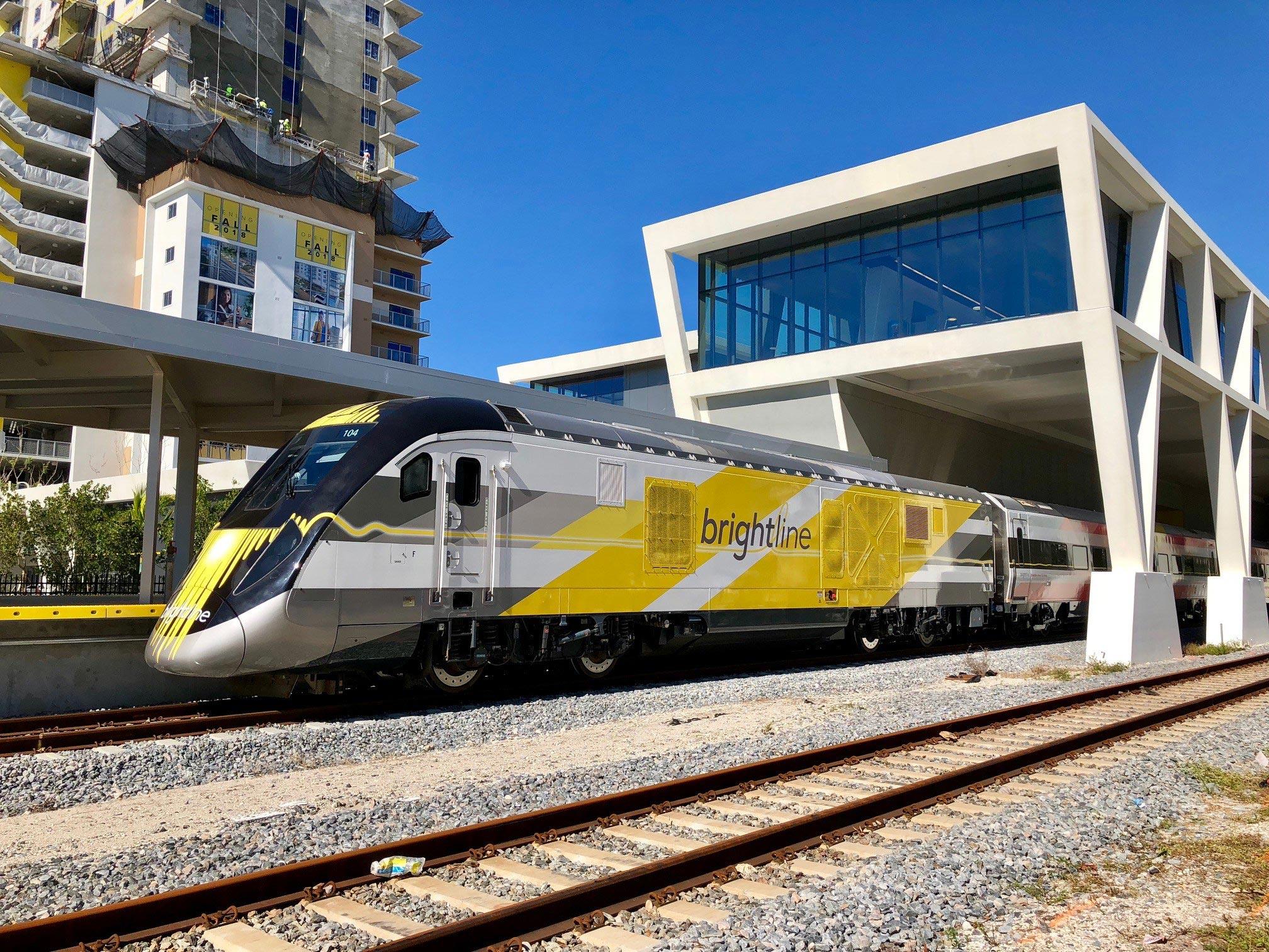 Brightline train service