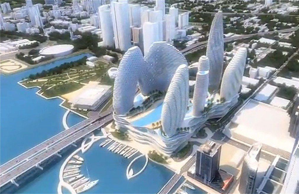 Mega-yacht marina at former Miami Herald site