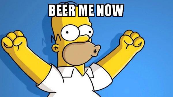 Homer beer me now