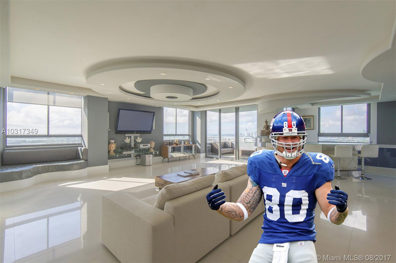 Jeremy Shockey sells South Beach condo for $2.4M