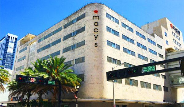 Macy's in Downtown Miami