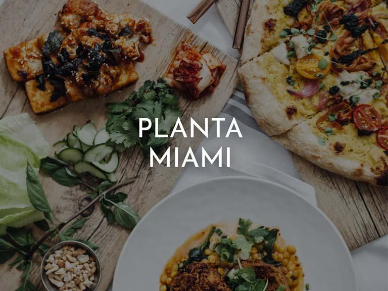 Planta Miami vegan restaurant