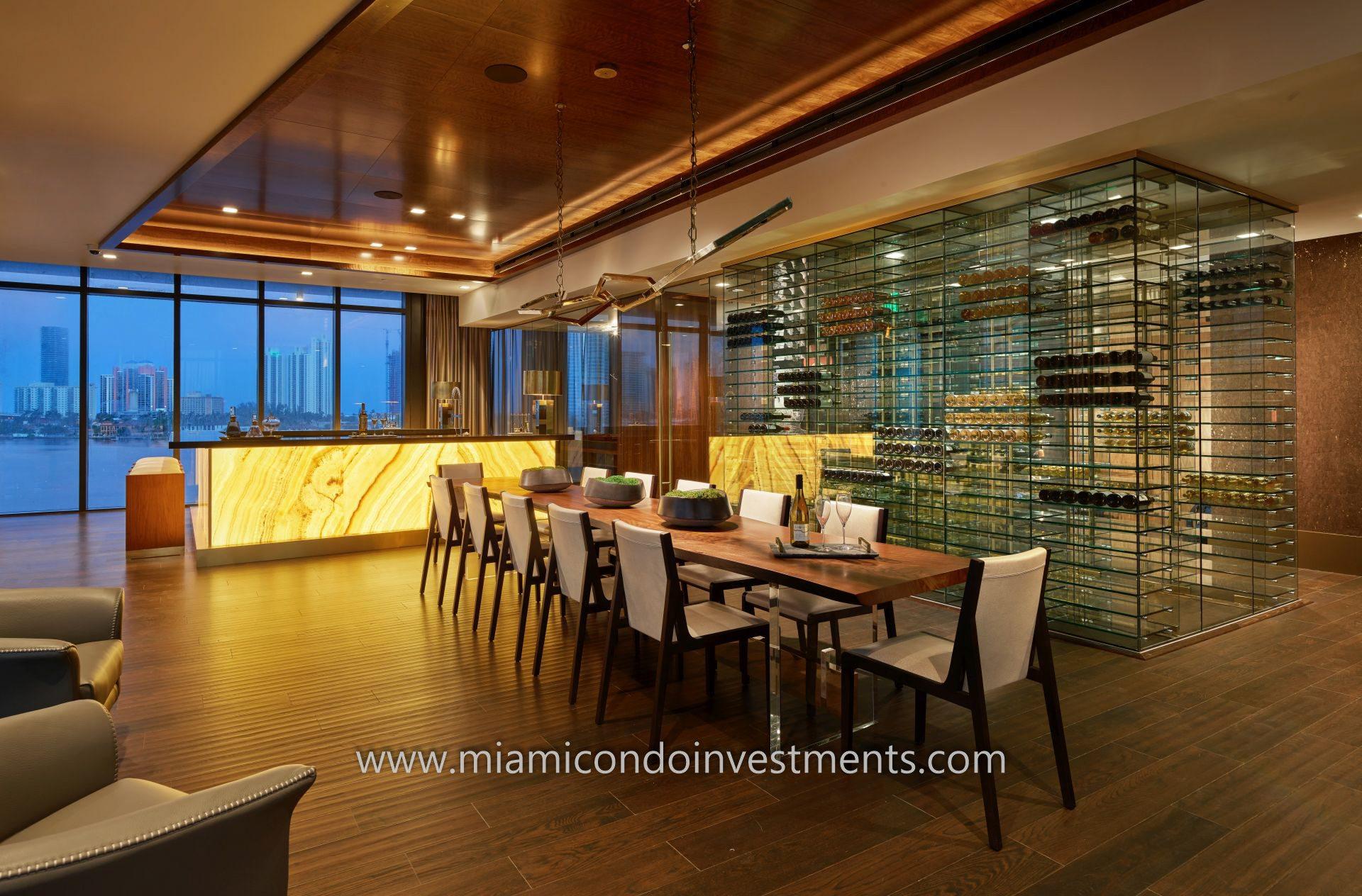 Prive wine room