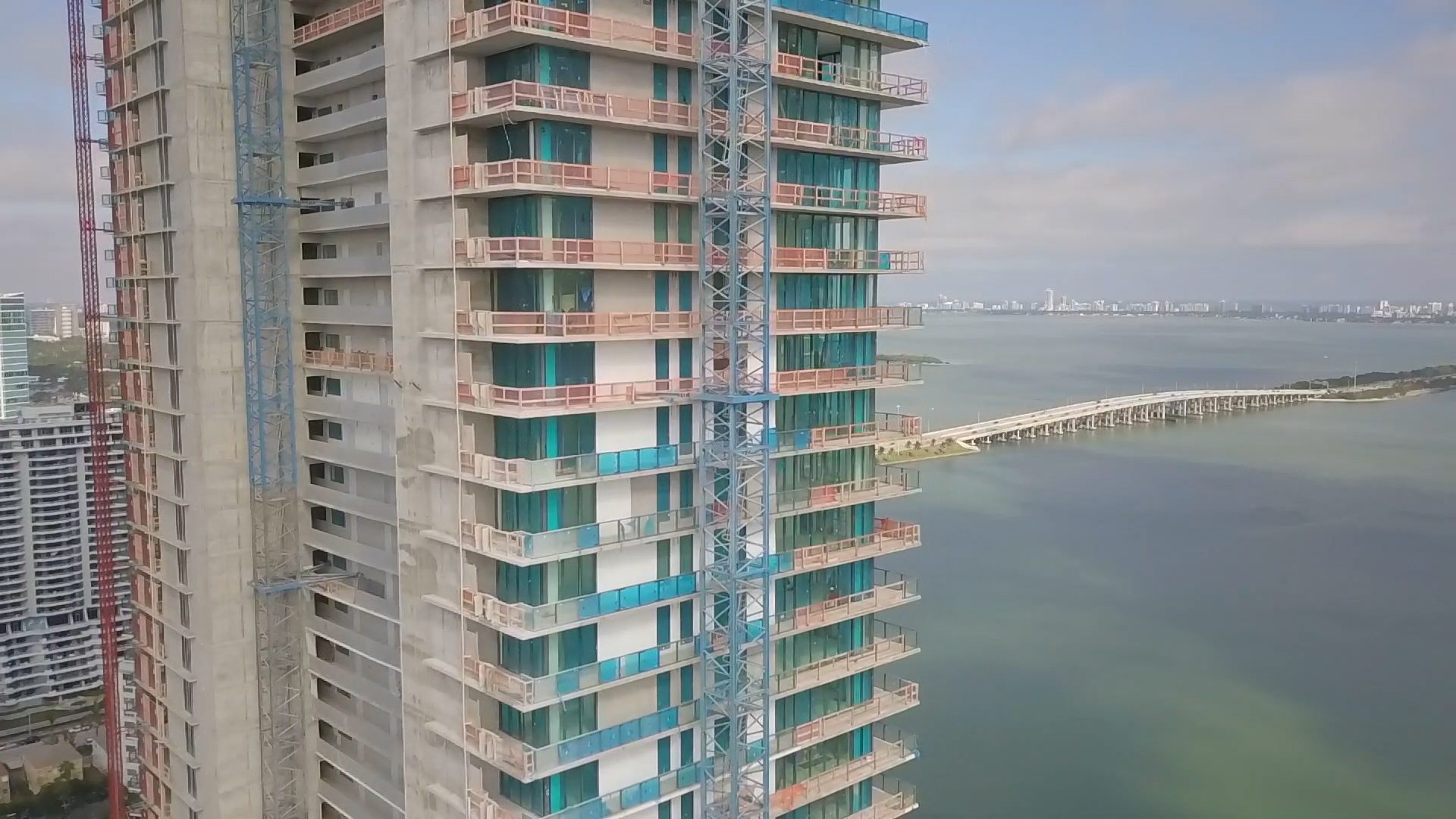 views from Paraiso District in Edgewater Miami