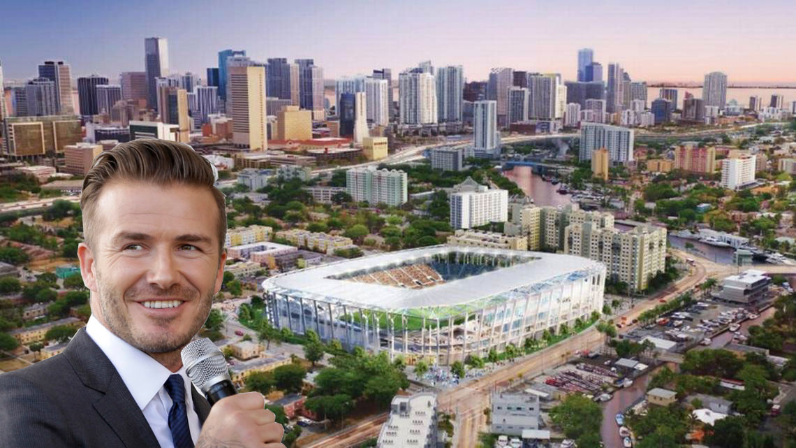 David Beckham brings Major League Soccer back to Miami