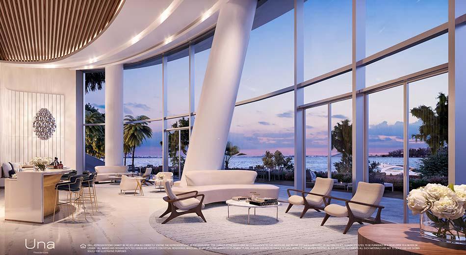 Una Residences lobby by AS+GG