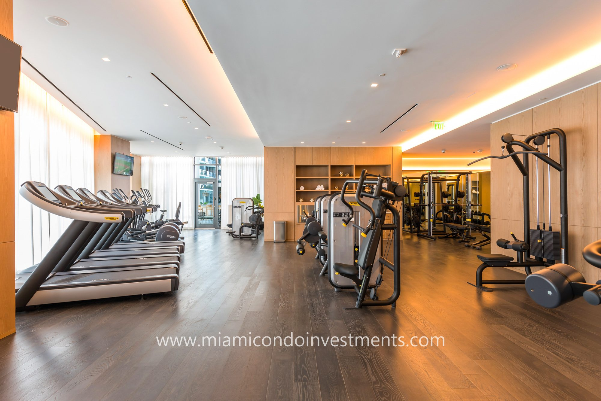 SLS Lux fitness center