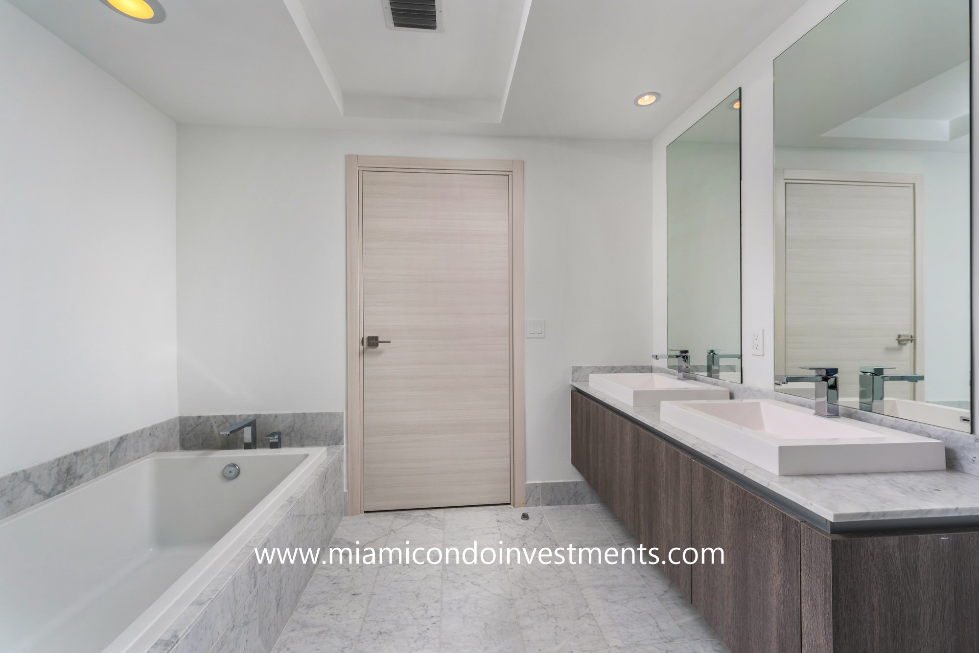SLS Lux master bathroom