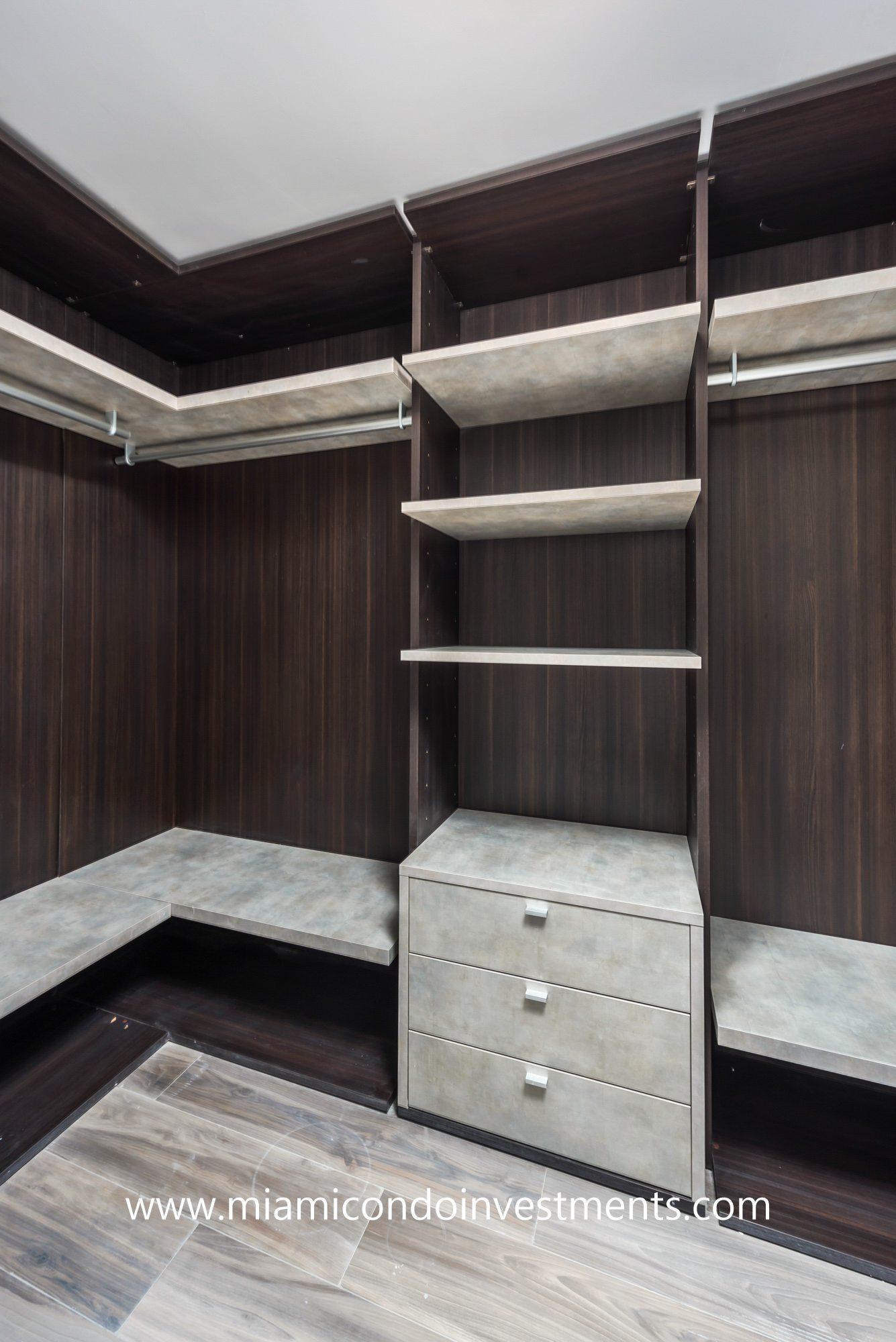 SLS Lux walk-in closet