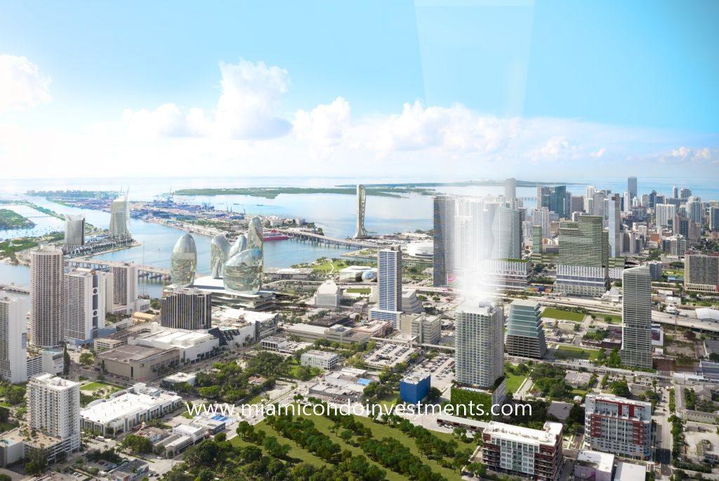 Canvas Miami aerial
