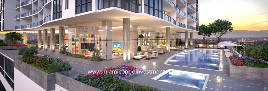 Canvas Miami amenities level