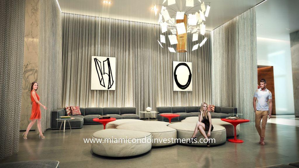 Canvas Miami lobby