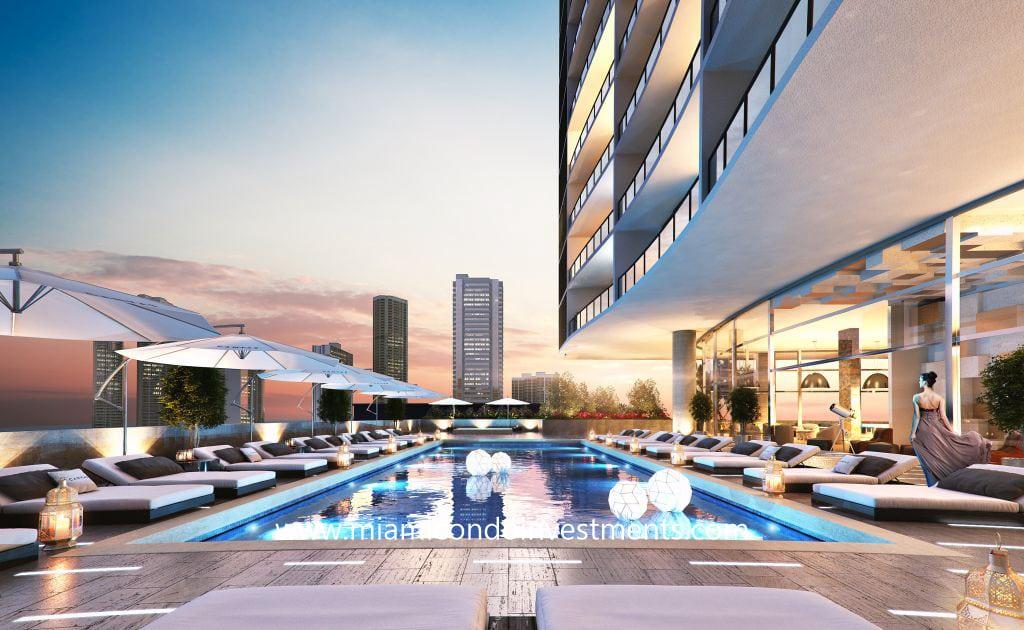 Canvas Miami pool deck