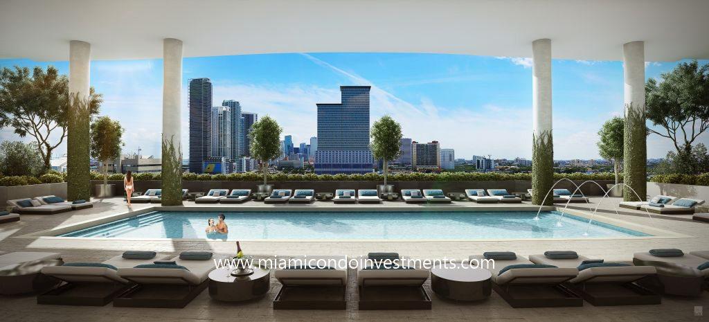 Canvas Miami south pool