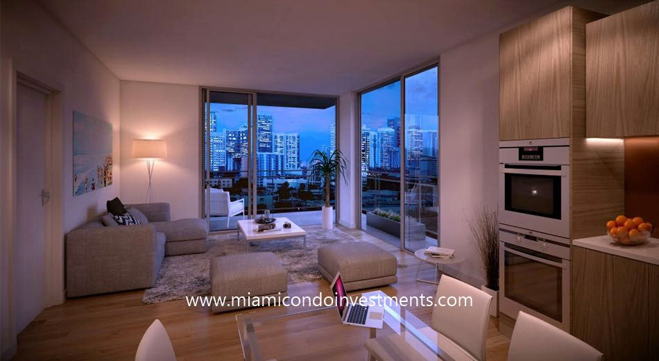 Cassa Brickell living room